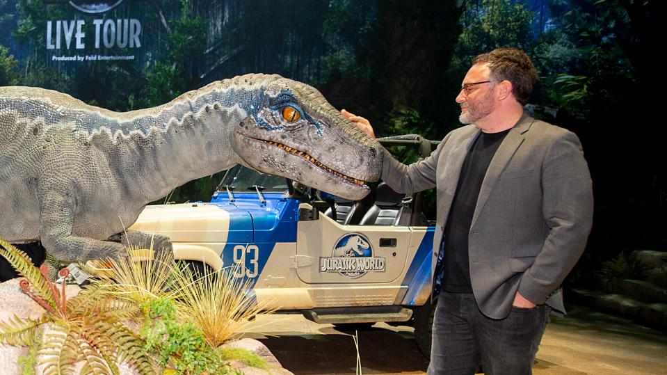 Colin Trevorrow attends the Jurassic World Live Tour on November 01, 2019. (Photo by Daniel Boczarski/Getty Images for Feld Entertainment Inc)