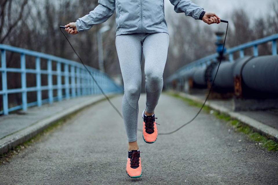 """<p>""""Cardio is something I never thought I'd do voluntarily, but here I am jump-roping three times a week!"""" - Stephanie Nguyen, senior editor, branded content</p>"""