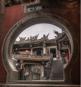 Lugang Mazu Temple is a national historic landmark with over four hundred years of rich history. It is one of the oldest Mazu temples in Taiwan! (Courtesy of Breckler Pierre)