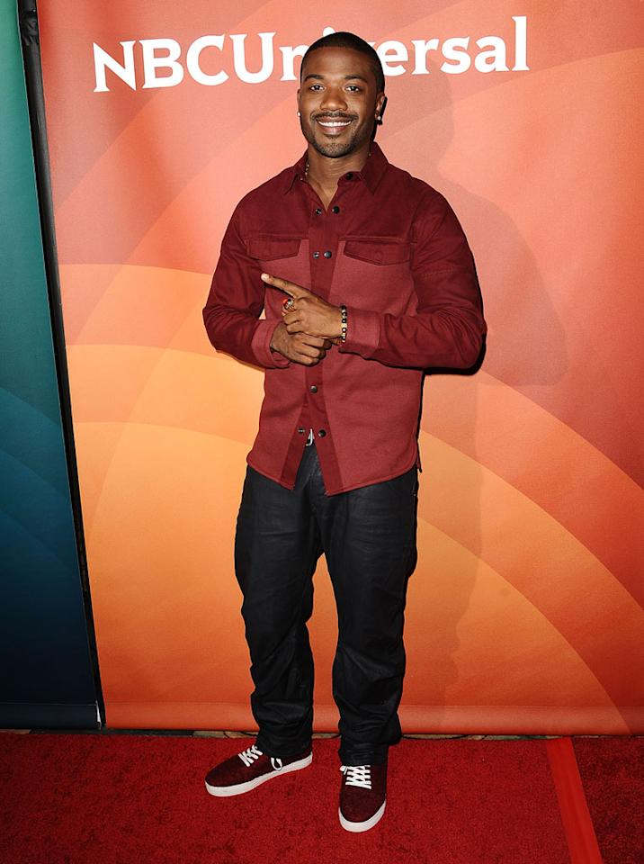 "Ray J (""Bad Girls All-Star Battle"") attends the 2013 NBC Universal Summer Press Day held at The Langham Huntington Hotel and Spa on April 22, 2013 in Pasadena, California."