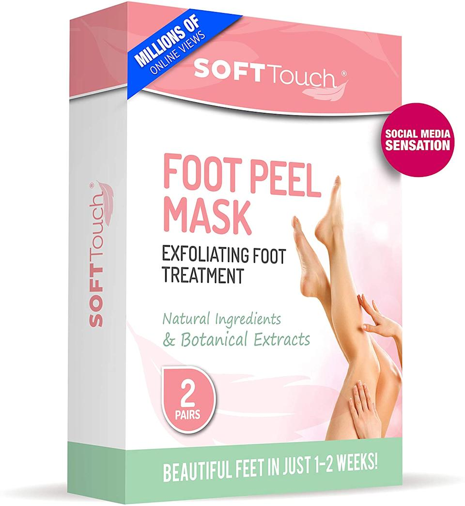 SoftTouch Foot Peel Mask - Amazon, $20 (originally $30)