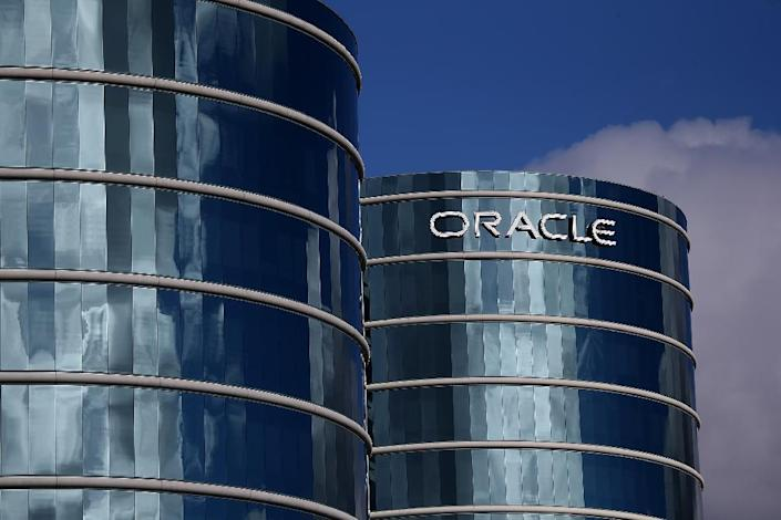 Silicon Valley giant Oracle has been accused of using the H-1B visa program to drive down wages and discriminate against US workers (AFP Photo/JUSTIN SULLIVAN)