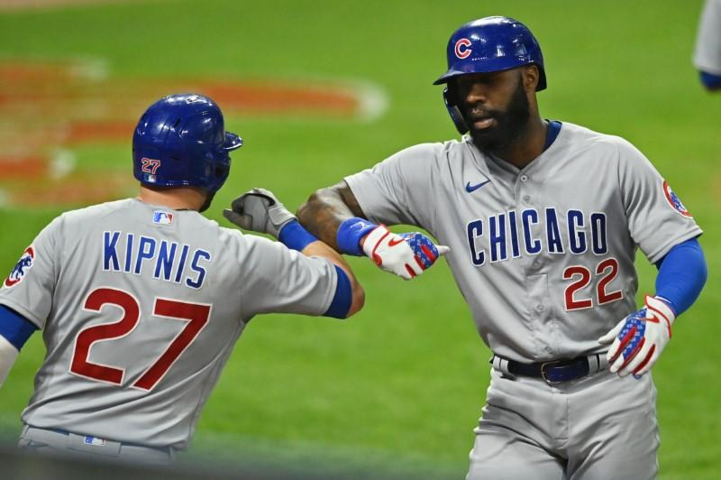 Lester, Heyward power Cubs past Indians