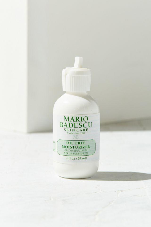 """<h2>Mario Badescu Oil Free Moisturizer SPF 30</h2><br>Don't judge a book by its cover — according to reviewers, the stuff inside is a game-changer for dry or sensitive skin.<br><br><strong>Mario Badescu</strong> Oil Free Moisturizer SPF 30, $, available at <a href=""""https://go.skimresources.com/?id=30283X879131&url=https%3A%2F%2Fwww.urbanoutfitters.com%2Fshop%2Fmario-badescu-oil-free-moisturizer-spf-30"""" rel=""""nofollow noopener"""" target=""""_blank"""" data-ylk=""""slk:Urban Outfitters"""" class=""""link rapid-noclick-resp"""">Urban Outfitters</a>"""