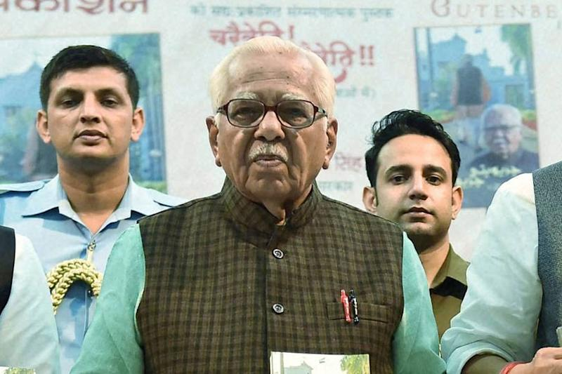 UP Governor Writes to CM, Seeks Action Against Azam Khan