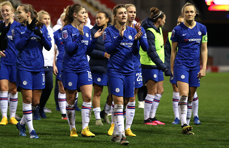 Chelsea Women donate £100,000 WSL prize money to charity