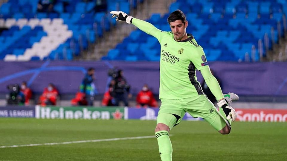 Thibaut Courtois, Real Madrid | Quality Sport Images/Getty Images