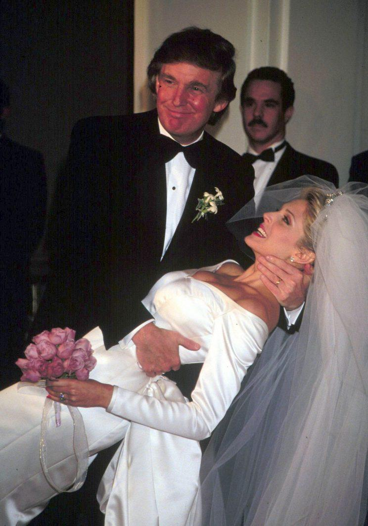 Wedding of Donald Trump and Marla Maples, New York, USA - Dec 1993