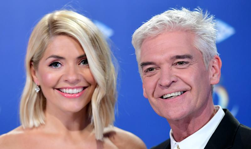 EMBARGOED TO 0001 TUESDAY AUGUST 25 File photo dated 09/12/19 of Holly Willoughby (left) and Phillip Schofield, will return to This Morning on September 1, ITV has confirmed. The duo have been away for the summer holidays, with Eamonn Holmes and Ruth Langsford filling in for them.