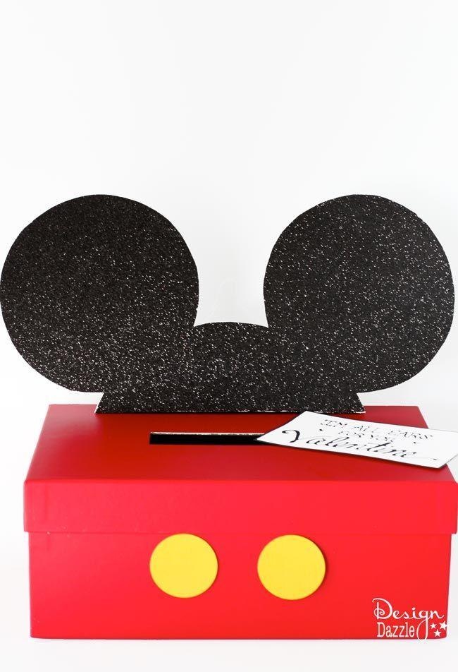"<p>Disney fans will freak over this homemade Mickey Mouse Valentine box. You can also make one that looks like Minnie!</p><p><strong>Get the tutorial at <a href=""https://www.designdazzle.com/mickey-and-minnie-mouse-valentine-card-box/"" rel=""nofollow noopener"" target=""_blank"" data-ylk=""slk:Design Dazzle"" class=""link rapid-noclick-resp"">Design Dazzle</a>.</strong></p><p><strong><a class=""link rapid-noclick-resp"" href=""https://www.amazon.com/construction-paper/b?ie=UTF8&node=12898141&tag=syn-yahoo-20&ascsubtag=%5Bartid%7C10050.g.25844424%5Bsrc%7Cyahoo-us"" rel=""nofollow noopener"" target=""_blank"" data-ylk=""slk:SHOP CONSTRUCTION PAPER"">SHOP CONSTRUCTION PAPER</a><br></strong></p>"