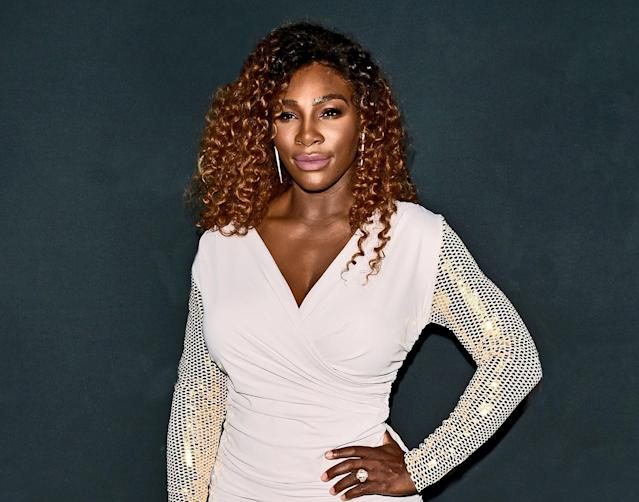 Serena Williams has the best advice for pregnant women on how to prepare emotionally for giving birth. (Photo: Andrew H. Walker/REX/Shutterstock)