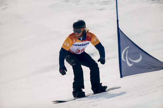 Winter Paralympics: Snowboard dream fizzles out for Pick in PyeongChang