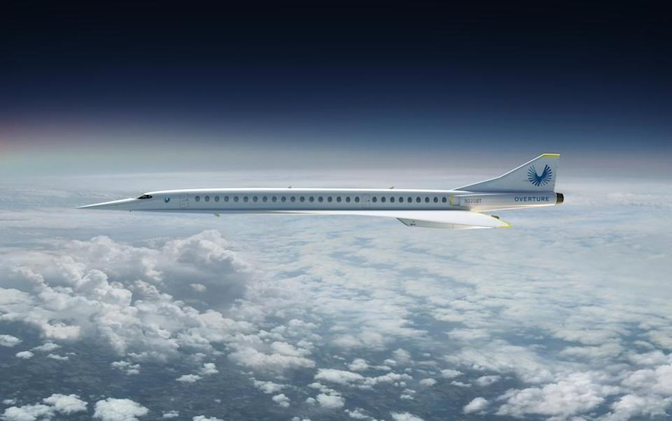 <em>The airliner will carry tens of millions of people around the globe at supersonic speed (Picture: Boom Supersonic)</em>