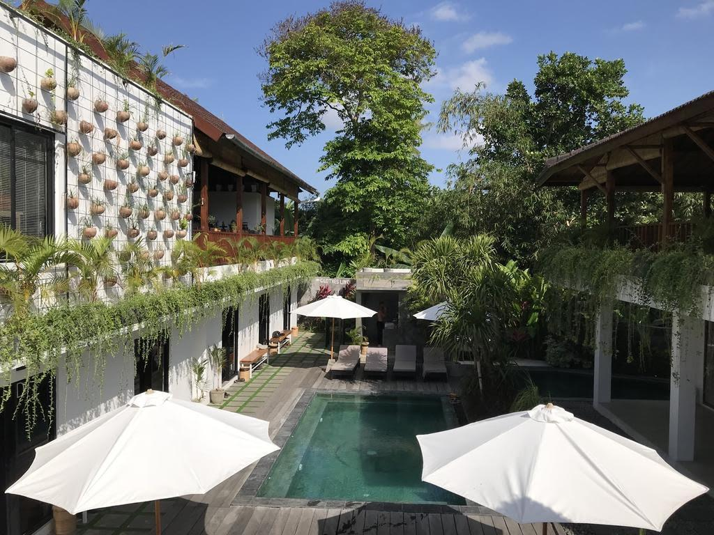 """<p>With luscious greenery surrounding a pool, spacious terrace and views of the Canggu countryside, it's no wonder this hostel reigns top when it comes to getting a 'gram-worthy' shot. <a rel=""""nofollow"""" href=""""https://www.hostelworld.com/hosteldetails.php/The-Farm-Hostel/Canggu/101104""""><em>Book here.</em></a> </p>"""
