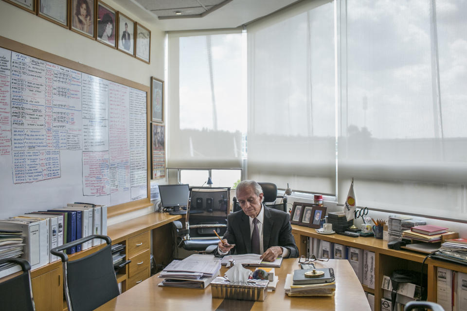 "Miguel Ángel Herrros, productor ejecutivo de ""La Rosa de Guadalupe"" (Meghan Dhaliwal/The New York Times)"