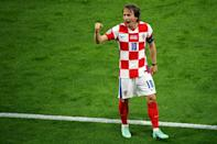 Luka Modric inspired Croatia to victory against Scotland and a place in the last 16
