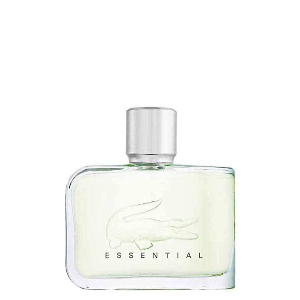 Lacoste - Essential for Men Eau de Toilette. Image via Amazon.