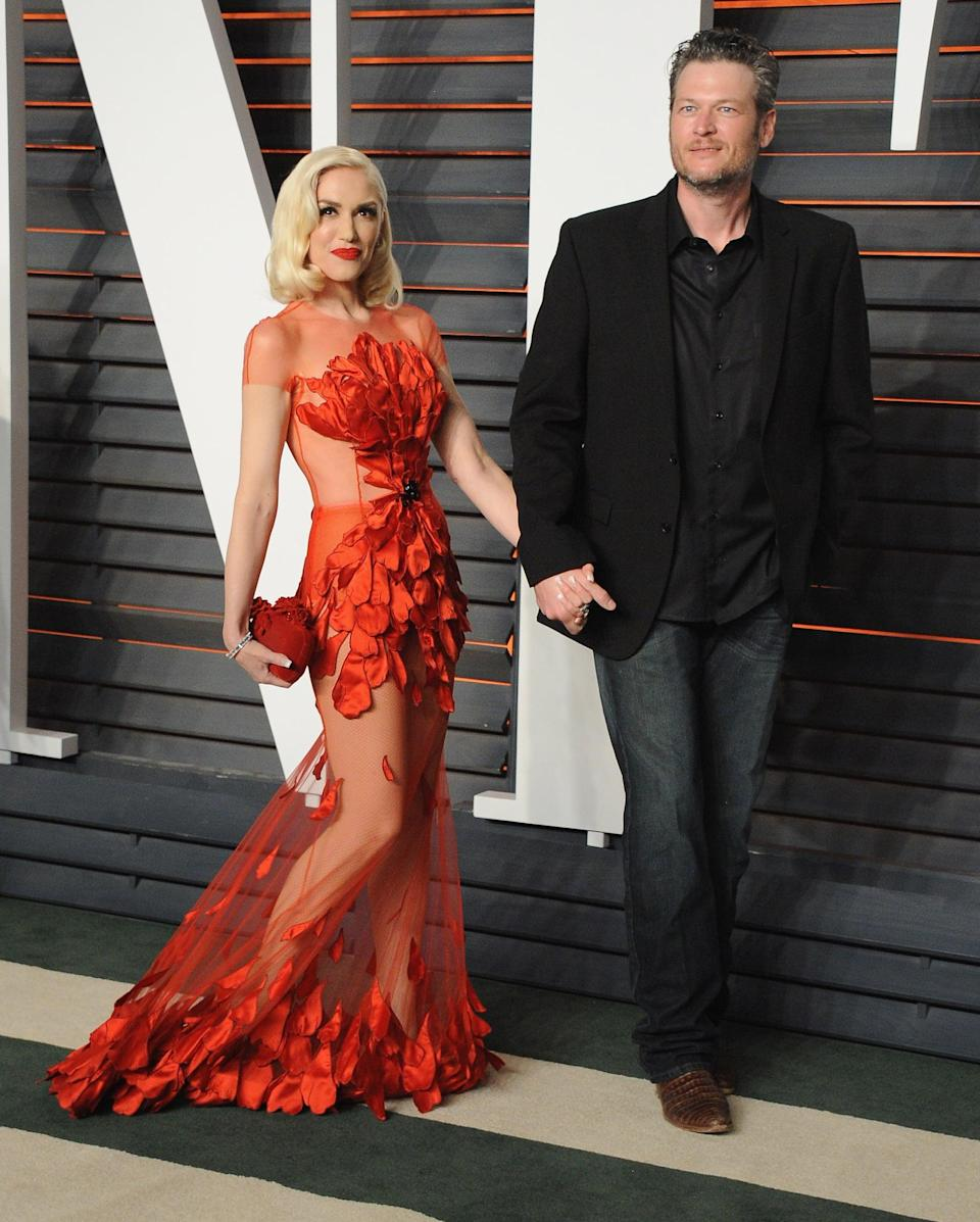 <p>The couple made their first big appearance together at the 2016 <strong>Vanity Fair</strong> Oscars party, walking the red carpet hand in hand and posing for all the photographers along the way.</p>