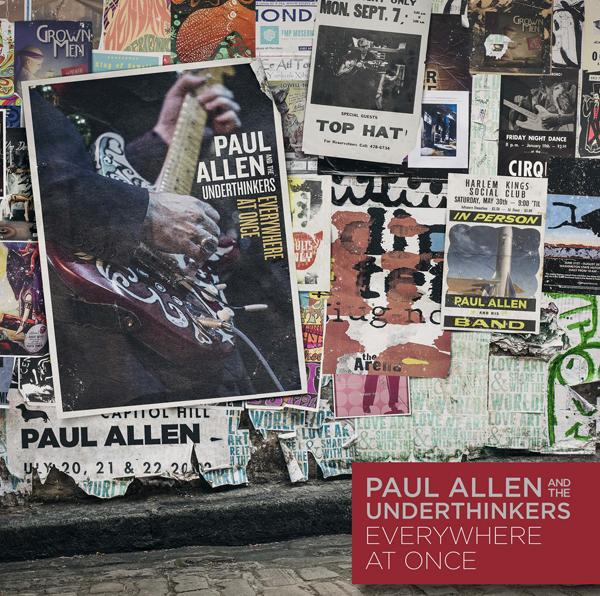 Paul Allen and the Underthinkers' 'Six Strings from Hell' - Premiere
