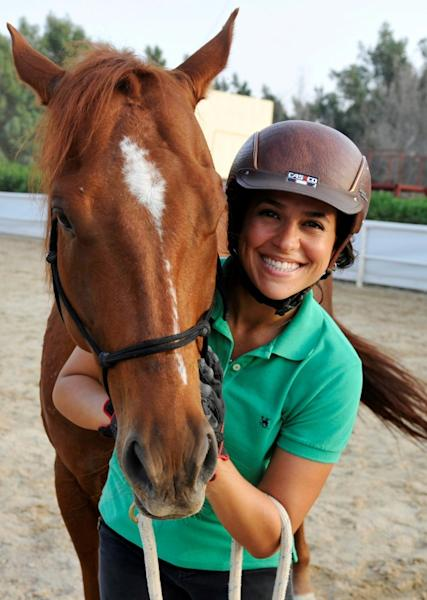 Dana al-Gosaibi says she uses empathy to train horses, rather than the spurs and whips more common to Saudi training methods