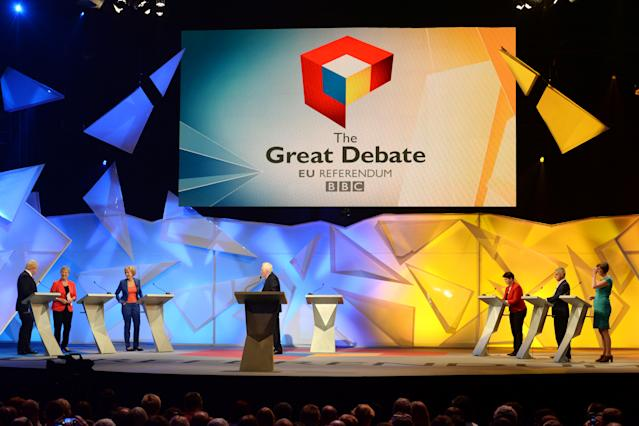 TV debates have become the norm (Picture: REUTERS/Stefan Rousseau/Pool)
