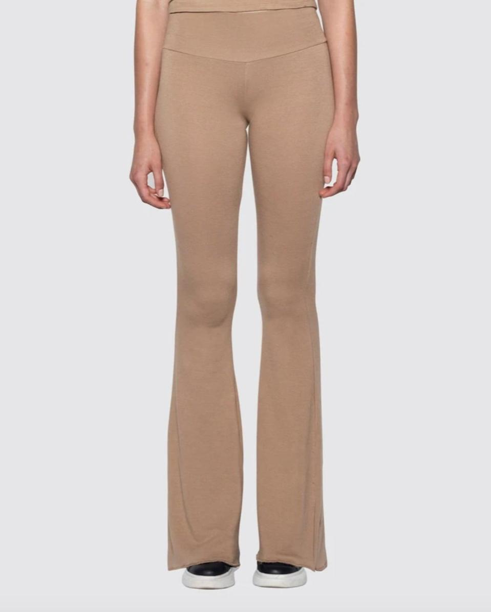 <p>Designed for supermodel Kaia Gerber, the <span>Bleusalt Kaia Pants</span> ($130) are completely sustainable. They come in five neutral colors, and the ultra-soft fabric feels like butter. </p>