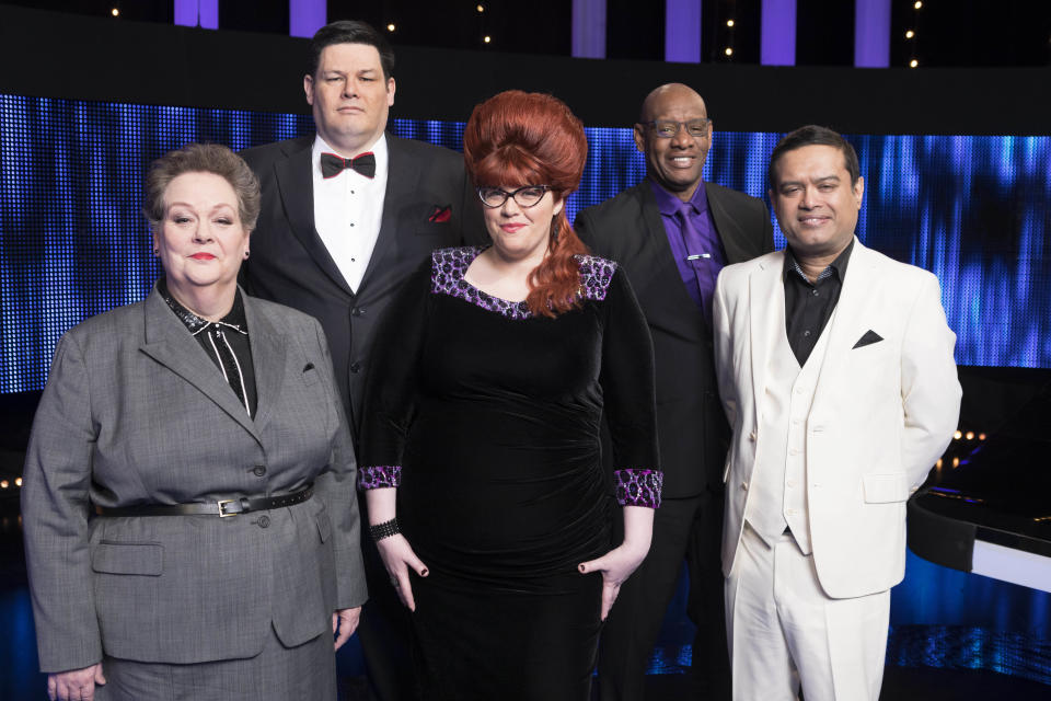The Chase stars are fearsome quizzers. (ITV/Gary Moyes)