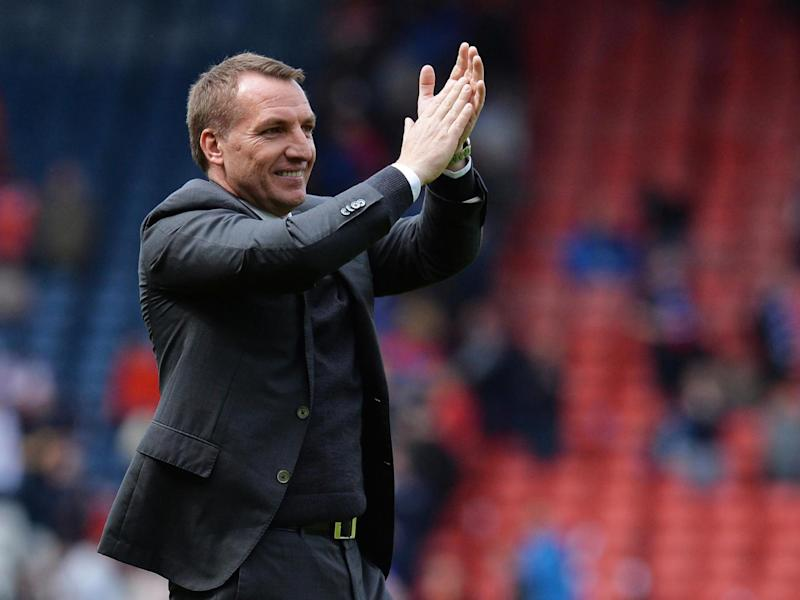 Rodgers can become part of an elite club if he secures the treble (Getty)