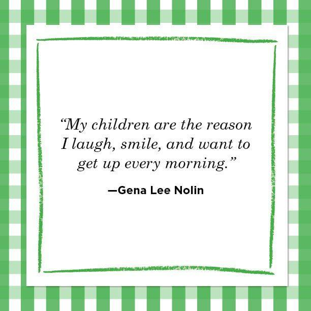 """<p>""""My children are the reason I laugh, smile, and want to get up every morning."""" </p>"""