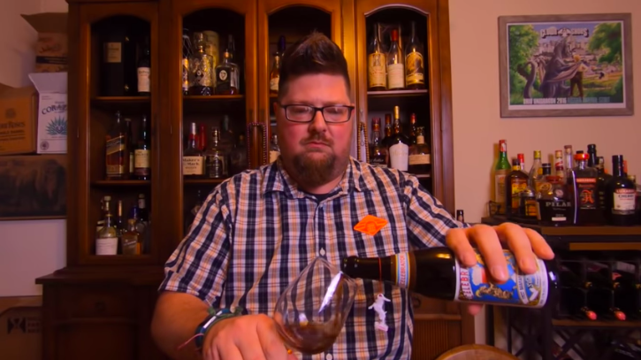 Del Hall is inspired to replicate the tradition of 17th-century monks by going on a beer fast for Lent. (Photo: Courtesy of YouTube/Del Hall)