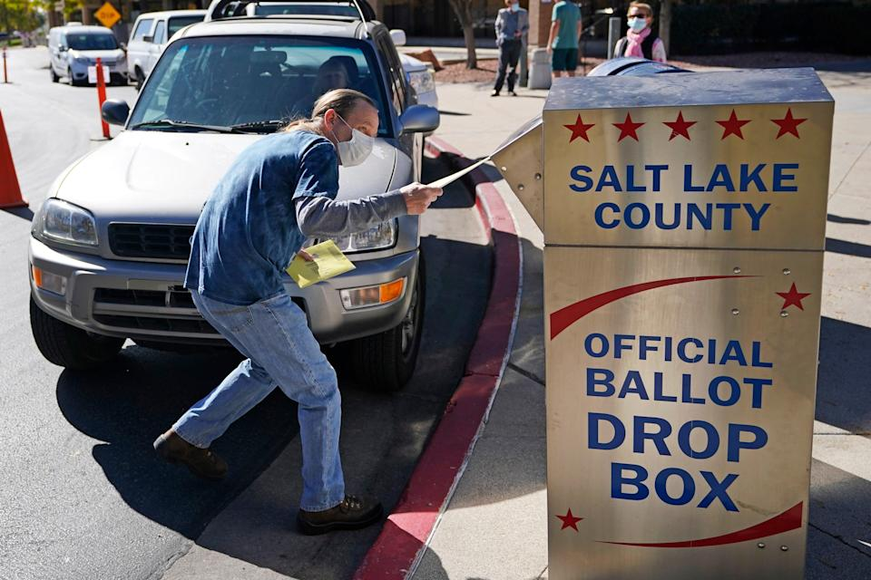 APTOPIX Election 2020 Early Voting Utah (Copyright 2020 The Associated Press. All rights reserved)