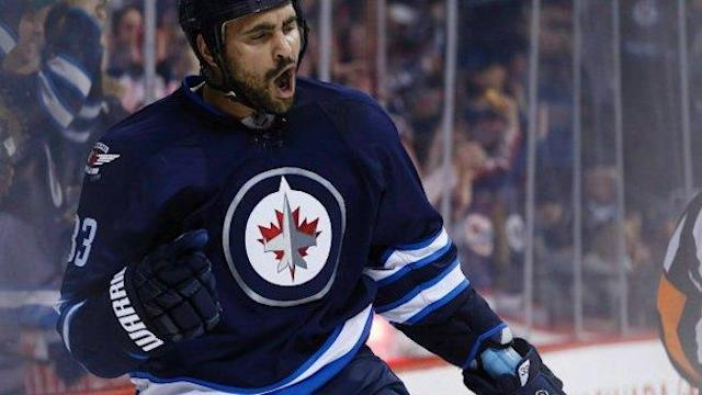 No One in the NHL Playoffs Can Knock Down Dustin Byfuglien