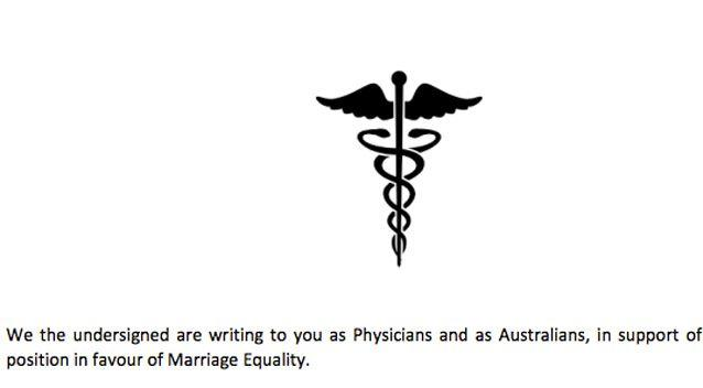 The petition has over 200 signatures from doctors and medical students