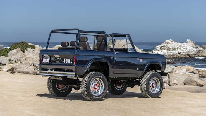 Ryan Blaney's Charity Bronco Unveiled At Monterey