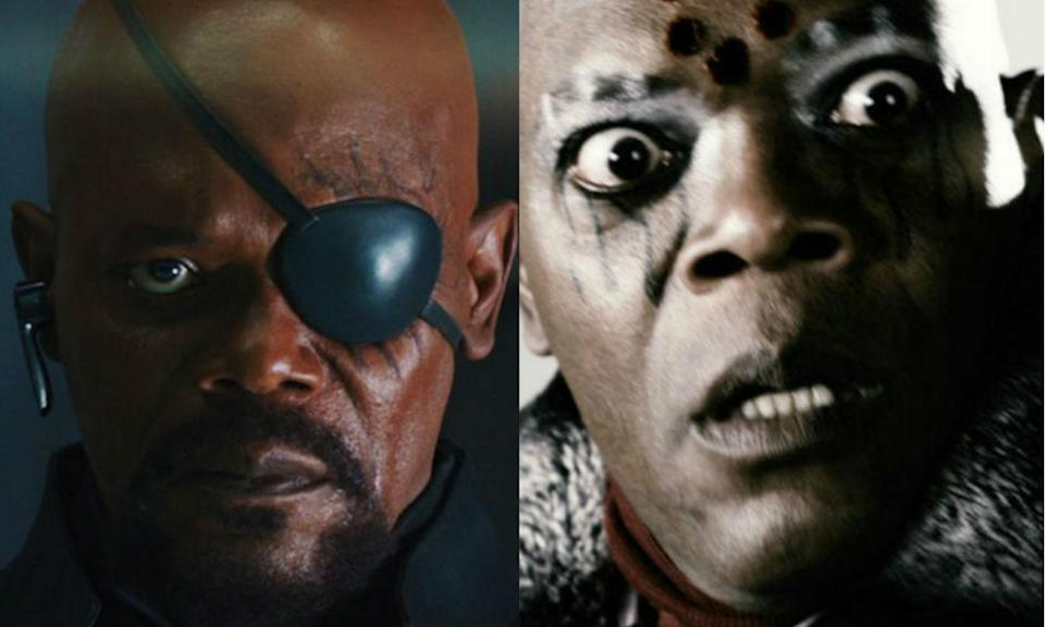 <p>Samuel L. Jackson is best known for playing Nick Fury in the MCU but he also played the main villain, The Octopus, in <em>The Spirit</em>. </p>