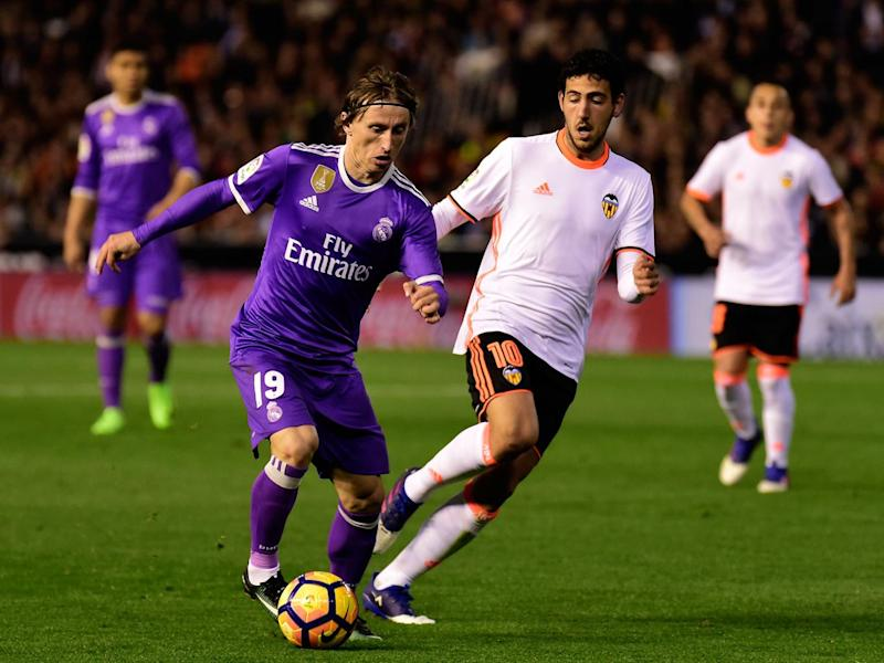 Modric's form hasn't been to its usual high standard recently (Getty)