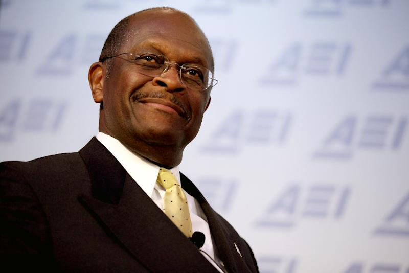 Former Republican presidential candidate Herman Cain has served as a board member at the Kansas City Federal Reserve Bank and is the former chief executive of Godfather's Pizza