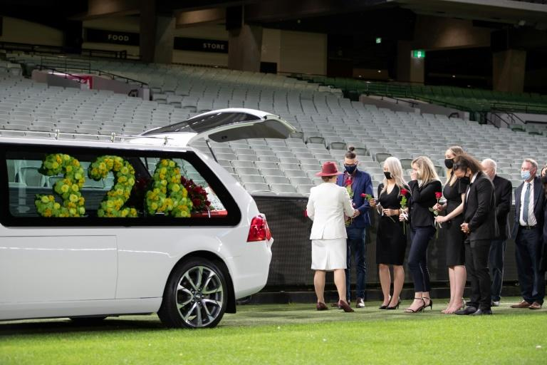Late cricketer Jones farewelled in last lap of empty MCG