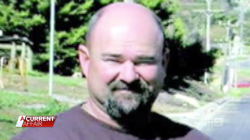 Michael Griffey, 45, is pictured on A Current Affair.