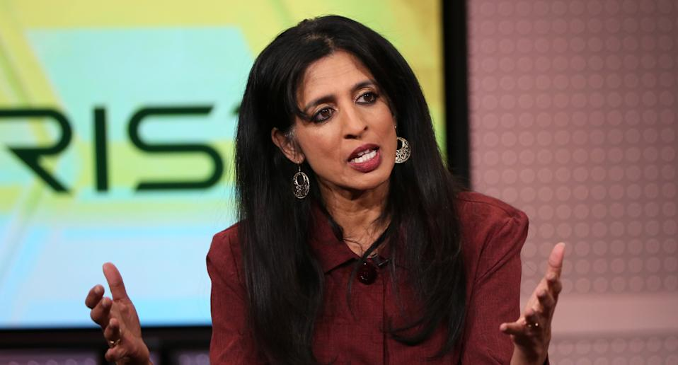 CEO Arista Networks Jayshree Ullal ranks sixth. Her wealth is estimated to be Rs 10,220 crore. OPhoto: Getty Images