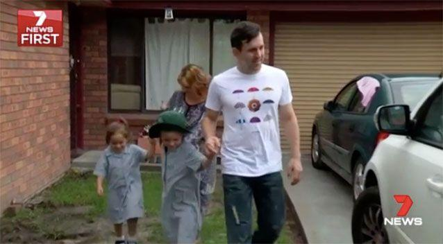 The Gleeson family. Picture: 7 News