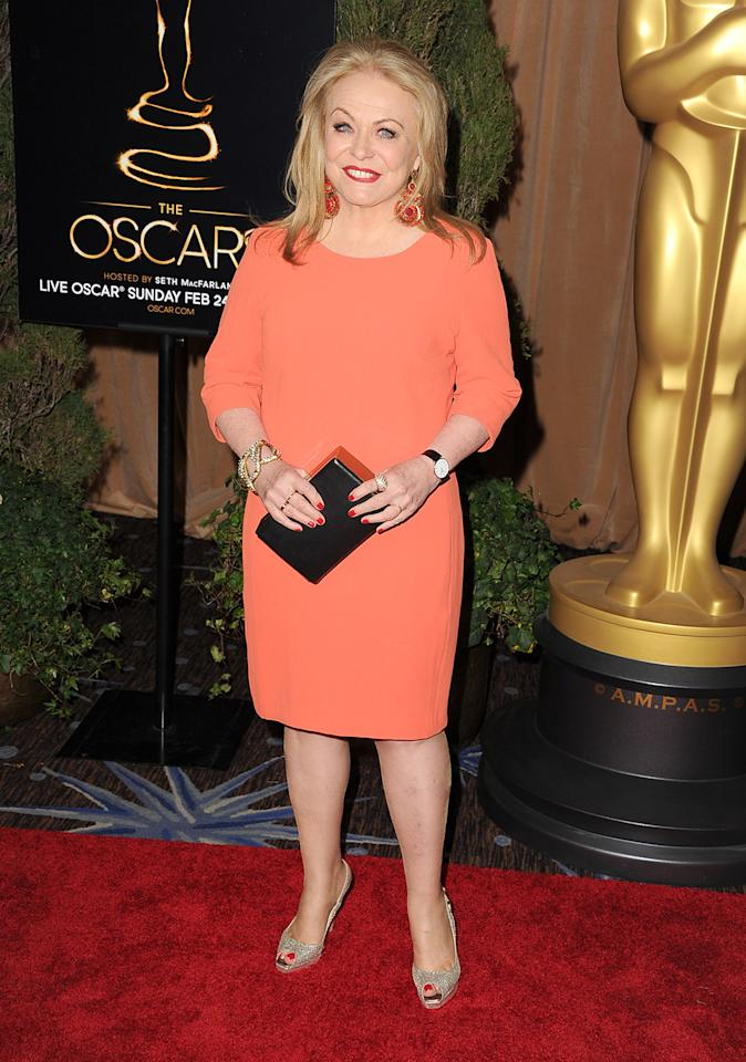 Jacki Weaver attends the 85th Academy Awards Nominations Luncheon at The Beverly Hilton Hotel on February 4, 2013 in Beverly Hills, California.  (Photo by Steve Granitz/WireImage)