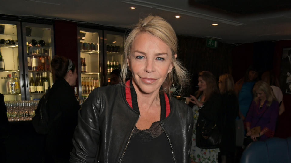 Leslie Ash has defied medical predictions and avoided having to use a wheelchair to get around. (David M. Benett/Getty Images)