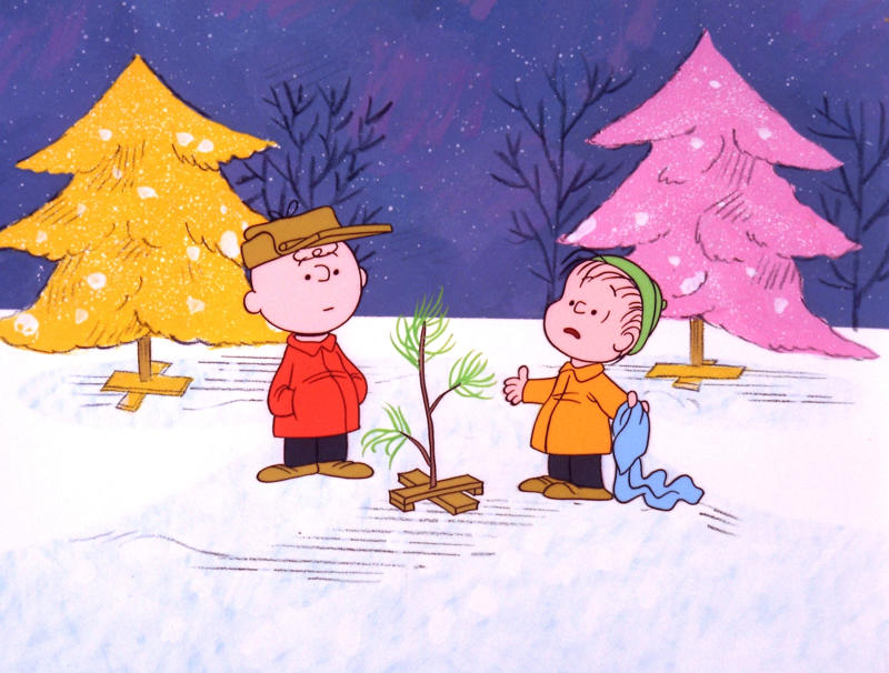 "FILE - In this file image originally provided by United Feature Syndicate Inc. VIA ABC TV, Charlie Brown and Linus appear in a scene from ""A Charlie Brown Christmas,"" a television special based on the ""Peanuts"" comic strip by Charles M. Schulz.   Charles Schulz' comic-strip and cartoon characters will star in their own animated film scheduled to hit theaters Nov. 25, 2015. (AP Photo/ABC,  1965 United Feature Syndicate Inc., File)  **NO SALES**    **MANDATORY CREDIT:  United Feature Syndicate Inc. **"