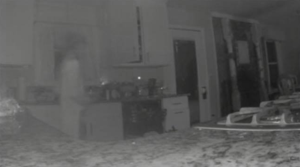 The image Jennifer Hodge believes shows the ghost of her late son. (Photo: Facebook)