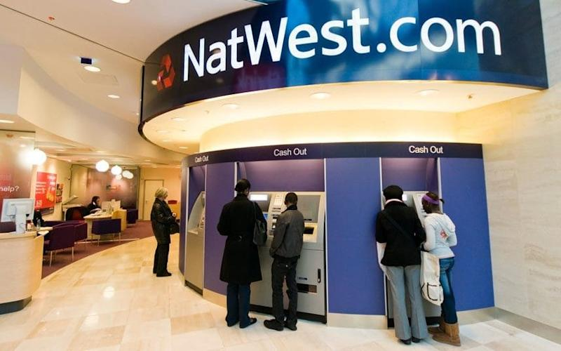 NatWest said the programme was 'highly life-like'
