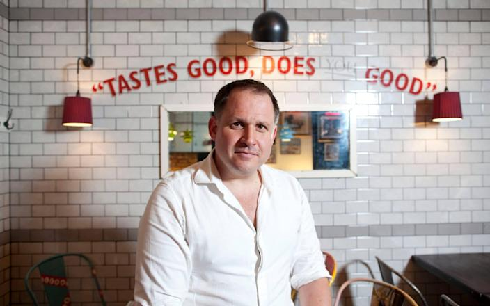 Leon founder Henry Dimbleby believes producers will cut sugar content instead - Jeff Gilbert