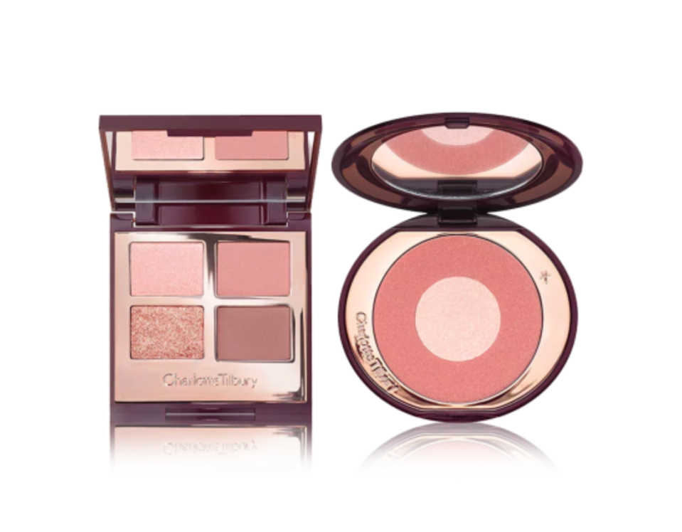 The Pillow Talk Eye and Blush Duo. Image via Charlotte Tilbury.