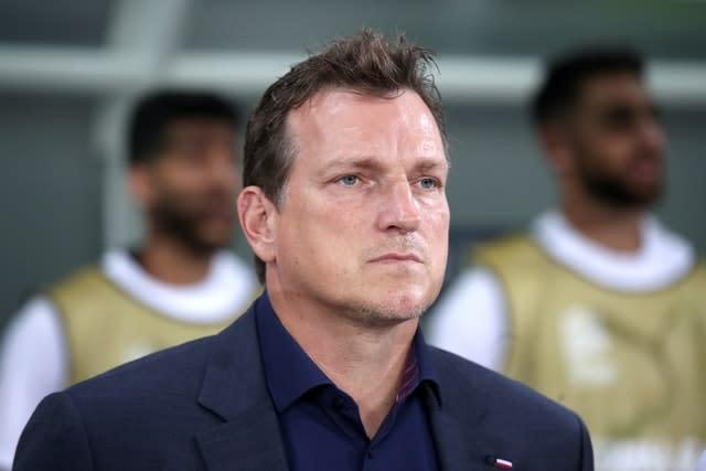Andreas Herzog has left his role with Israel (PA)