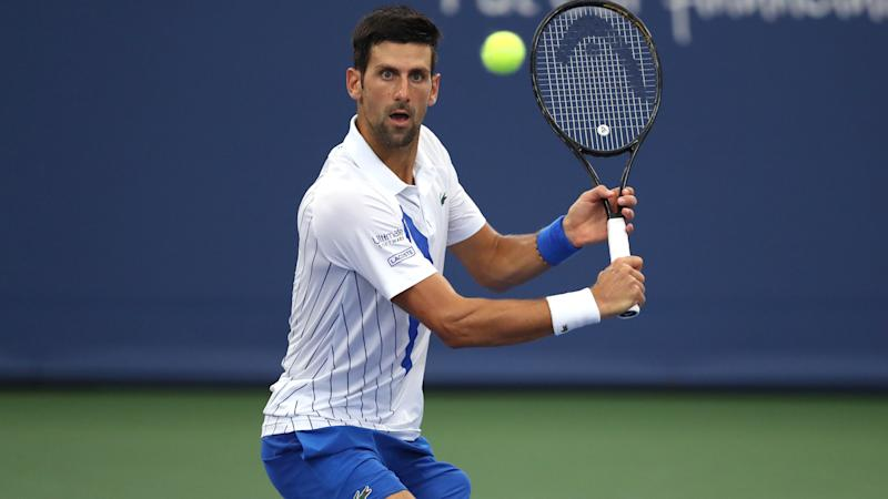 BREAKING NEWS: Djokovic defaulted from US Open for hitting linesperson with ball